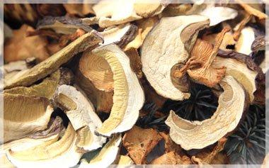 Купить сушеные грибы в Украине